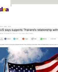 thailand and united states relationship with mexico