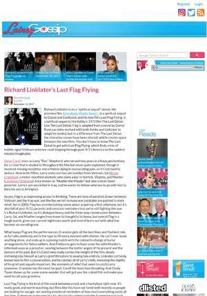 Richard Linklater's Last Flag Flying movie review