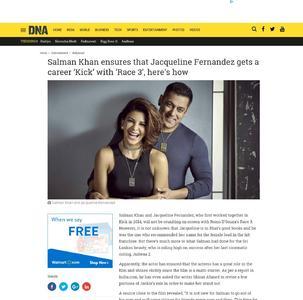 Salman Khan ensures that Jacqueline Fernandez gets a career 'Kick' with 'Race 3', here's how