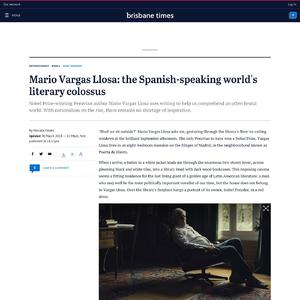 Mario Vargas Llosa: the Spanish-speaking world's literary colossus