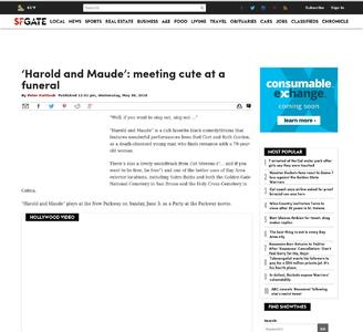 'Harold and Maude': meeting cute at a funeral