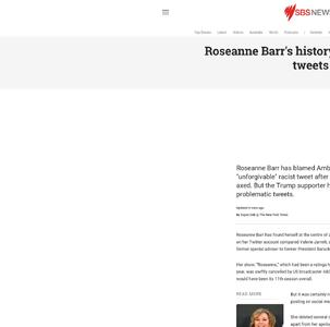 Roseanne Barr's history of problematic tweets