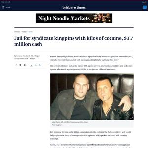 Jail for syndicate kingpins with kilos of cocaine, $3.7 million cash