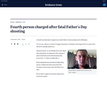 Fourth person charged after fatal Father's Day shooting