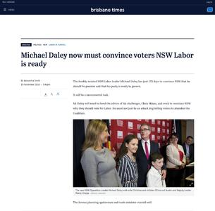 Michael Daley now must convince voters NSW Labor is ready