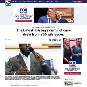 The Latest: DA says criminal case drew from 300 witnesses