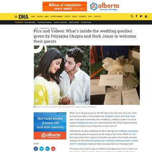 Pics and Videos: What's inside the wedding goodies given by Priyanka Chopra and Nick Jonas to welcome their guests