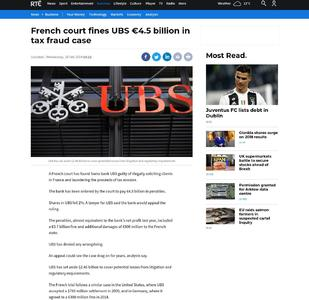 French court ruling due in UBS $6 billion tax case