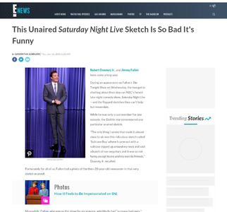 This Unaired Saturday Night Live Sketch Is So Bad It's Funny