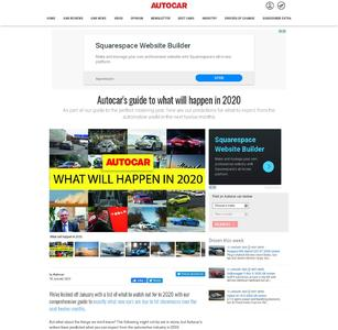 Autocar's guide to what will happen in 2020