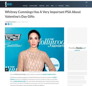Whitney Cummings Has A Very Important PSA About Valentine's Day Gifts