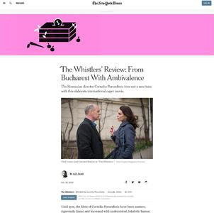 'The Whistlers' Review: From Bucharest With Ambivalence