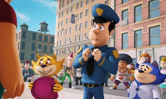 Top Cat Begins: Movie Review